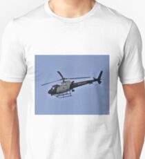 LAPD Helicopter in flight Unisex T-Shirt