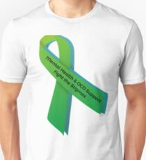 Mental Health & OCD Support - Fight the Stigmas Unisex T-Shirt