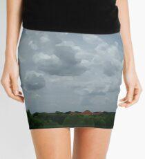 Artsy Nature in Houston Mini Skirt