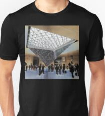 Hanging Pyramid, Louvre, Paris, France 2012 Unisex T-Shirt