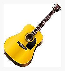 Play Classic Guitar Illustration Photographic Print