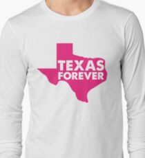 Texas Forever State - Pink T-Shirt