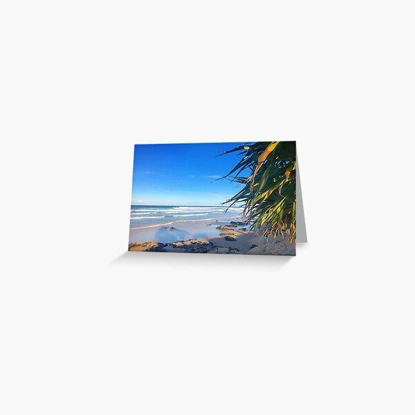 Coolum Beach, Sunshine Coast, Australia Greeting Card