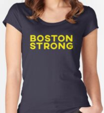 Boston Strong Women's Fitted Scoop T-Shirt
