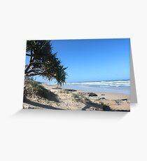 Coolum Beach, Qld Australia Greeting Card
