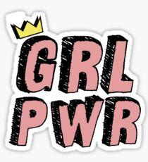 Pegatina GRL PWR