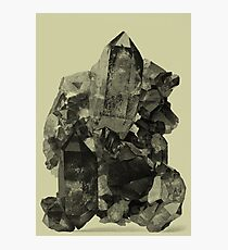 Vintage Crystal Mineral Photographic Print