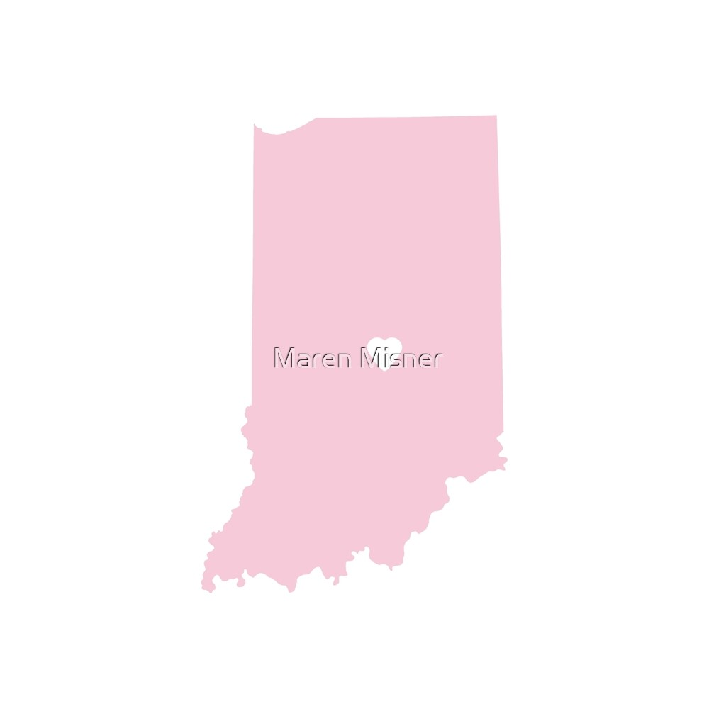 Indiana Love in Pink by Maren Misner