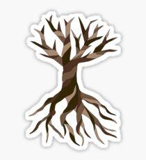 Twisted Tree Sticker