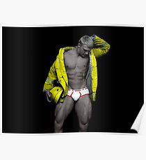 Elite Male Fitness Model - A005 Poster