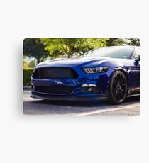 Ford Mustang S550 Canvas Print