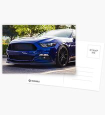 Ford Mustang S550 Postcards