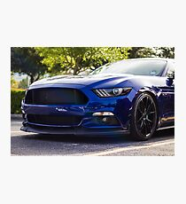 Ford Mustang S550 Photographic Print