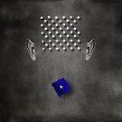 Portrait of a virtual mind. Peter Morrison. by Alex Preiss