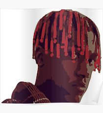 boat rapper hip hop mural painting cartoon Poster