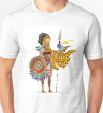 aztec american native warrior T-Shirt