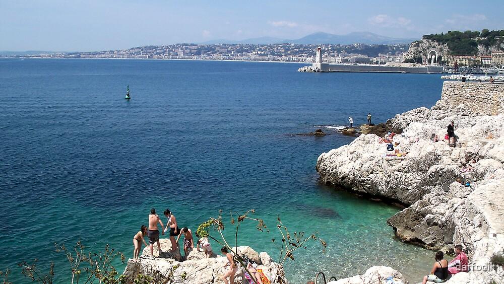 Mediterranean Sea by daffodil