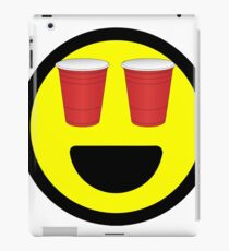 Smiley Red Cup Eyes Summer Fun iPad Case/Skin