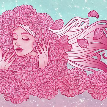 Peony Maiden by fancifuldewdrop