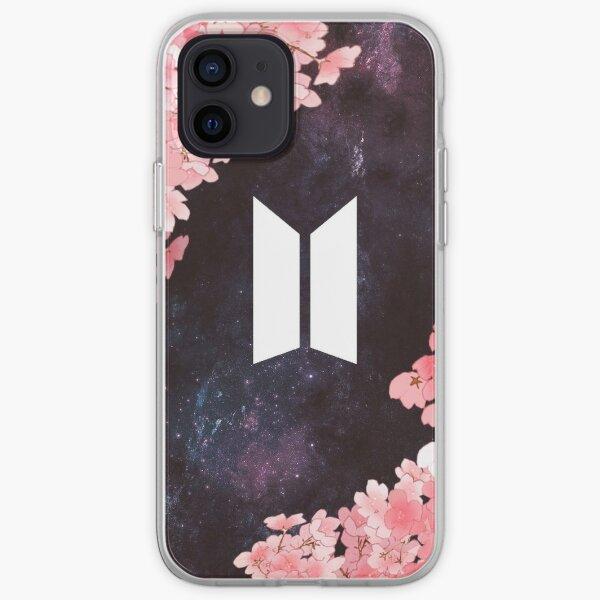 BTS Space [Nuevo logotipo] Funda blanda para iPhone
