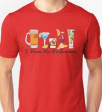 Alcoholic Beverages T-Shirt