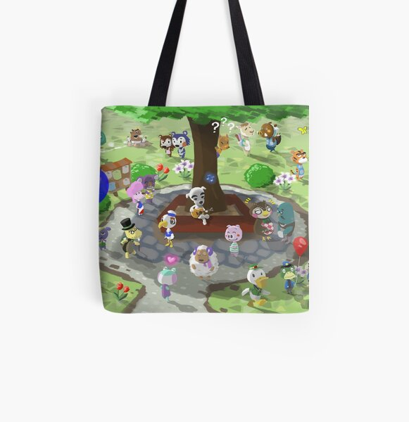 Welcome to Animal Crossing All Over Print Tote Bag