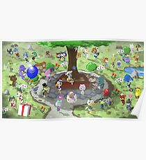 Welcome to Animal Crossing Poster