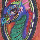 Dragon in Rainbows by Stephanie Small