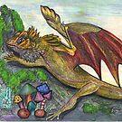 Gold Dragon by Stephanie Small