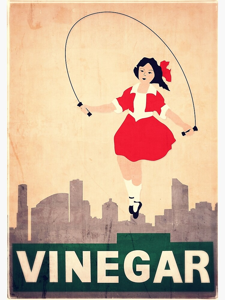 Skipping Girl Vinegar by melbournedesign