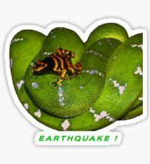 EARTHQUAKE! Sticker