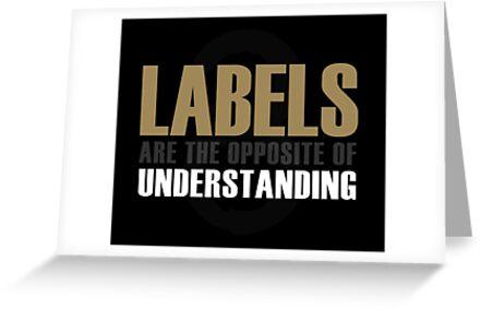 Sense8 labels are the opposite of understanding greeting cards by sense8 labels are the opposite of understanding by dentweed m4hsunfo