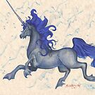 Sea Unicorn by Stephanie Small