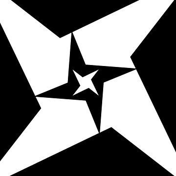 Descending Star Pattern by Artantat