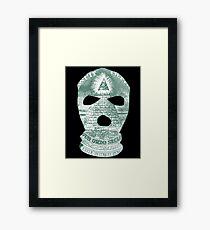 The Ski Mask Way Framed Print