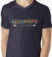 Adventure is Out There! Men's V-Neck T-Shirt