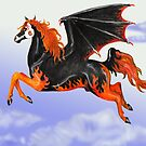 Bat Winged Horse by Stephanie Small