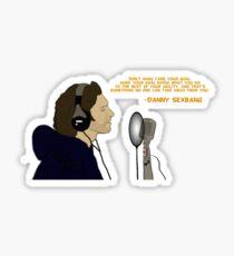 Dan Avidan - Inspirational Quote Sticker