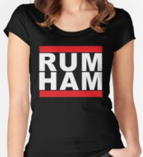 Rum Ham Women's Fitted Scoop T-Shirt