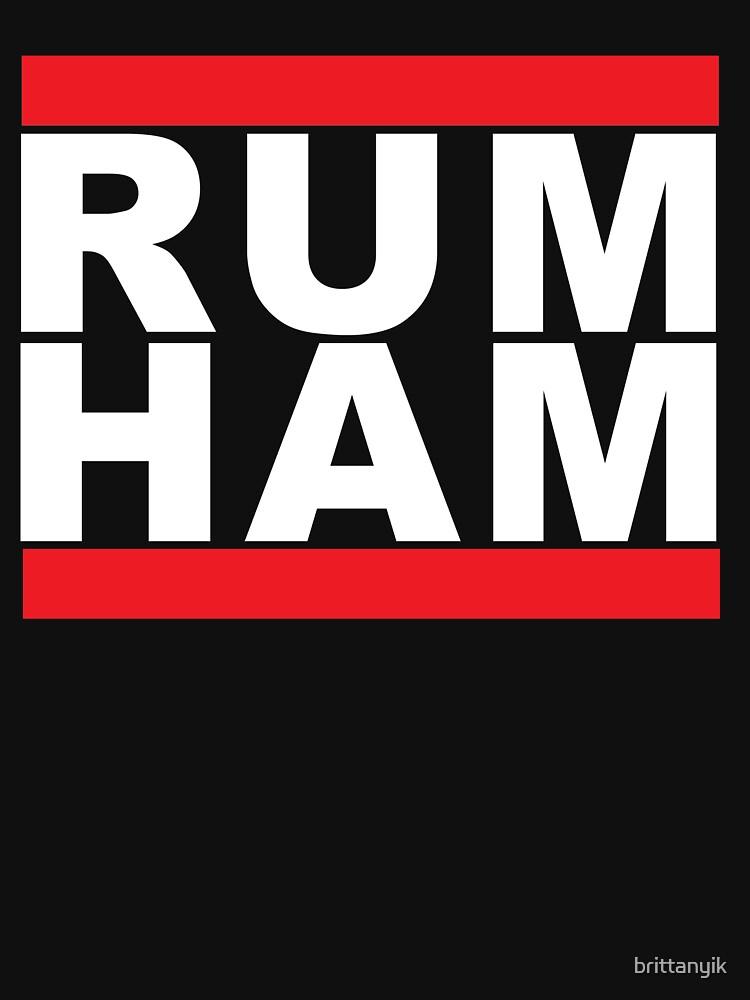 Rum Ham by brittanyik