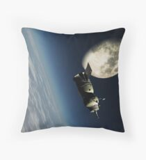 Space view Throw Pillow