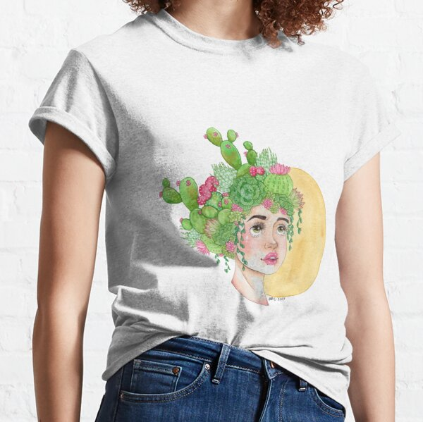 Cacti and Succulents Classic T-Shirt