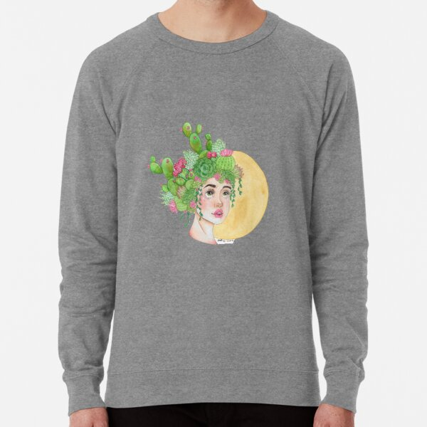 Cacti and Succulents Lightweight Sweatshirt