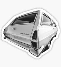 HR Holden Wagon Graphic Sticker