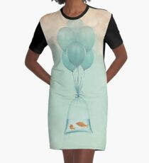 Flight to Freedom Graphic T-Shirt Dress