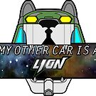 My Other Car is a Lion (Pidge) by Gwendolyn Edwards
