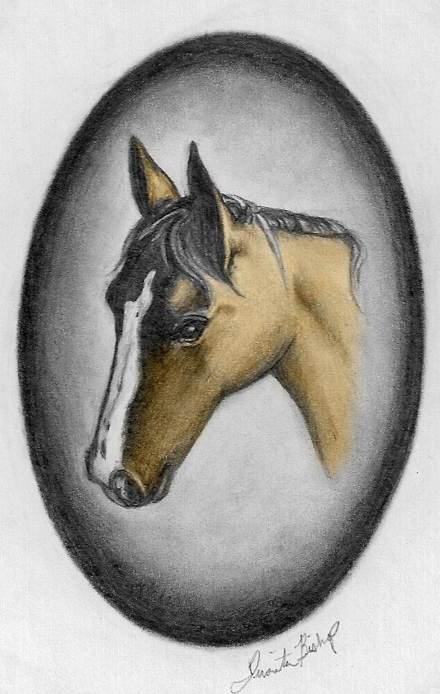 Horse2 by Juanita Bishop