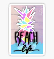 Pinkfruit Beach Life Sticker