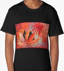 red jungle Long T-Shirt