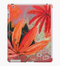 red jungle iPad Case/Skin